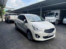 Bán Mitsubishi Attrage 1.2AT đời 2019, màu trắng, xe nhập như mới, 390tr