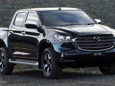 Cần bán xe Mazda BT 50 2.2L Luxury AT 2021, màu đen, giá chỉ 644 triệu