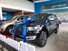 Bán Ford Everest Titanium 2.0L 4WD AT 2021, màu đen, nhập khẩu nguyên chiếc