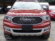 Xe Ford Everest Titanium 2.0L 4WD AT đời 2021, màu đỏ