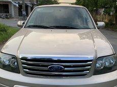 Bán xe Ford Escape đời 2007, màu ghi vàng, số tự động