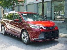 Cần bán Toyota Sienna sản xuất 2021 nhập khẩu nguyên chiếc, giá tốt