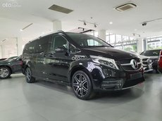 Bán xe Mercedes-Benz V250 AMG 2021 giao ngay, màu đen nội thất đen