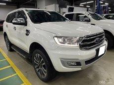 Cần bán lại xe Ford Everest BiturBo TRắng 2019