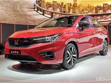 Bán Honda City RS giảm sâu tiền mặt + PK + BH kèm thuế trước bạ tháng tới