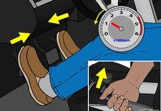 Kinh nghiệm phanh xe ô tô an toàn