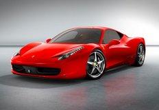 Xe ô tô Ferrari 458 mới