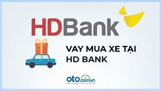Vay mua ô tô trả góp tại HDBank