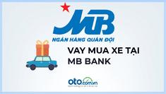 Lãi suất vay mua xe ô tô tại ngân hàng MBbank