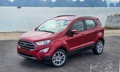 Vừa ra mắt, Ford EcoSport 2020 nhận ưu đãi cả chính hãng và đại lý