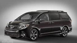 Đánh giá xe Toyota Sienna 2018 bản nâng cấp