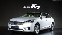Kia Cadenza/K7 2016 chính thức ra mắt tại 'sân nhà' Hàn Quốc