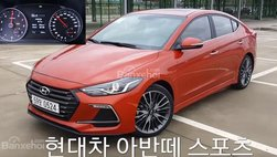 Cận cảnh Hyundai Elantra Sport Turbo mới