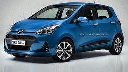 Hyundai i10 Grand 2017 sẽ chính thức được trình làng vào tháng tới