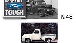 Các mẫu bán tải của Ford được xây dựng qua từng thời kỳ