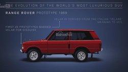 Khám phá quá trình tiến hóa của Range Rover trong 48 năm