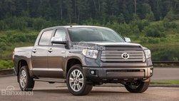 Toyota Tundra bị triệu hồi do lỗi bậc chống va phía sau