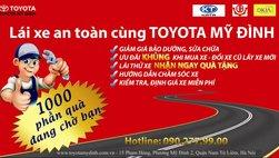 Toyota Mỹ Đình tổ chức lái thử xe Toyota thế hệ đột phá và sửa chữa lưu động tại Lào Cai