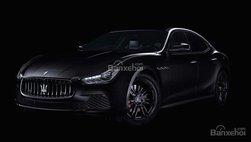 Vén màn Maserati Ghibli Nerissimo bản đặc biệt trước ngày ra mắt