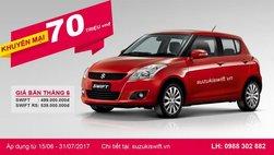 Suzuki Vân Đạo giảm giá 'khủng' cho khách hàng khi mua xe Suzuki Swift