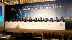 Xe mới tại triển lãm ô tô Việt Nam VMS 2017