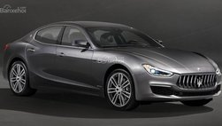 """Maserati """"nhá hàng"""" Ghibli GranLusso Facelift với công nghệ xe tự lái"""