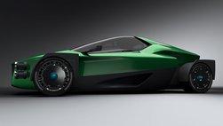 Siêu xe điện Miss R trình làng, cạnh tranh với Tesla Roadster