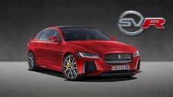 Jaguar XF SVR tung bản dựng, hi vọng được sản xuất thương mại