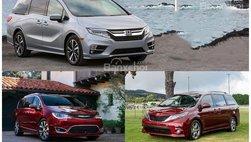 4 mẫu xe minivan tốt nhất cho gia đình năm 2018: Có 'xe ế' Honda Odyssey