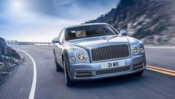 Bentley Mulsanne sẽ lột xác, trở thành xe điện