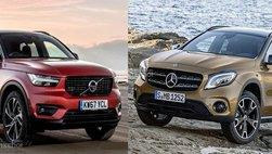 So sánh Volvo XC40 và Mercedes-Benz GLA 2018