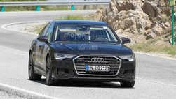 Audi S6 'khỏa thân' chạy thử không che chắn