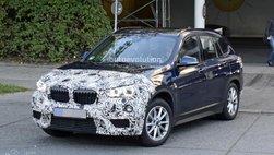 BMW X1 2020 facelift tung tăng chạy thử ở Đức