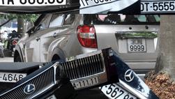 Mức phí cấp mới biển số xe ô tô