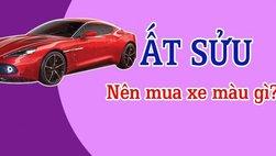Tuổi Ất Sửu mua xe màu gì?
