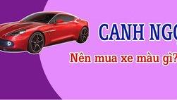 Tuổi Canh Ngọ mua xe màu gì?