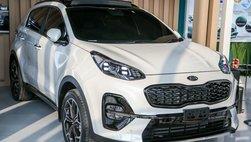 Kia Sportage 2019 nâng cấp mới xuất hiện 'lén lút' tại triển lãm ô tô Indonesia, có về Việt Nam?