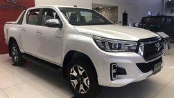 Tư vấn vay mua xe Toyota Hilux trả góp 2018 đầy đủ nhất
