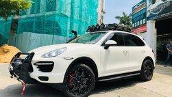 Dân chơi Việt chi tiền tỷ độ Porsche Cayenne thành xe off-road