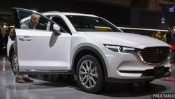 Mazda CX-8 chuẩn bị 'tham chiến' tại Việt Nam, giá dự kiến khoảng 1 tỷ đồng