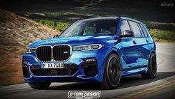 BMW X7 M lộ ảnh dựng thiết kế