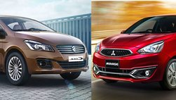 Suzuki Ciaz và Mitsubishi Mirage 400 triệu lọt Top... ế: Giá tốt nhưng thiếu chiến lược?