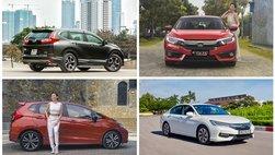 Doanh số bán xe của Honda Việt Nam tăng 244% trong tháng 10/2018