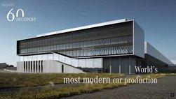 """Nhà máy xe Mercedes mới sẽ đẹp """"như phim"""""""