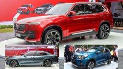 Ba mẫu xe VinFast sẽ tiếp tục trưng bày ở đâu?