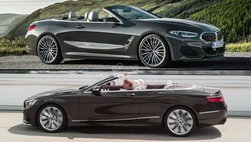 So sánh BMW 8-Series Convertible với Mercedes S-Class Cabriolet