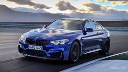 BMW M4 vẫn gắn bó với hộp số sàn