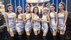 Triển lãm xe ô tô Thái Lan ''nóng'' hơn nhờ dàn người mẫu xinh đẹp