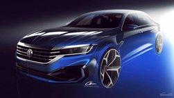 Volkswagen Passat 2020 nhá hàng