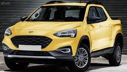 """Ford Focus sắp có bán tải """"đàn em"""" mới"""